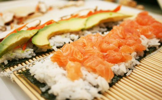 Take a sushi making class