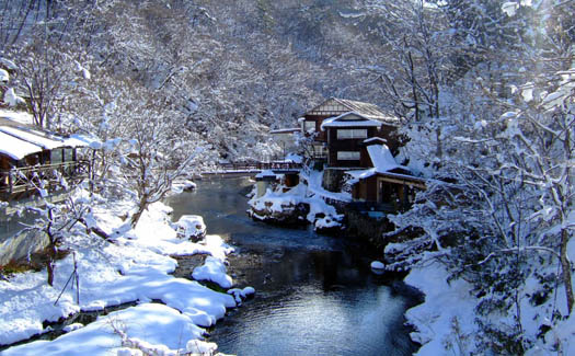 Relax at Nozawa Onsen Snow Resort