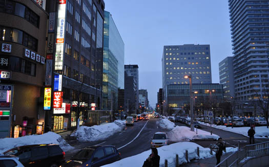Shopping in Sapporo