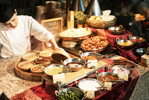 A buffet of flavors at Anise Anise InterContinental Hotels Dubai Festival City