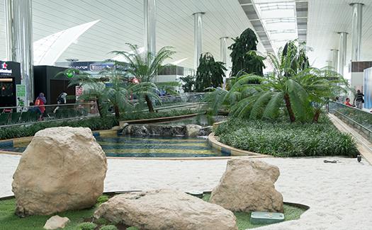 Zen Gardens, Dubai Airports
